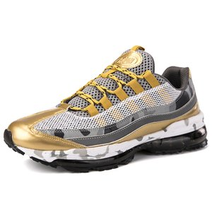 Brand Men Running Shoes Outdoor Athletic Walking Sneakers Breathable Jogging Air Cushioning Male Gym Fitness Sneakers Plus Size