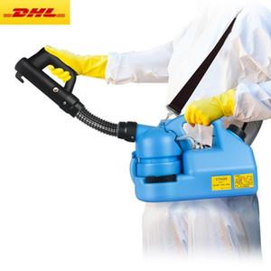 DHL Gemi 7L Elektrikli ULV Soğuk Sisleme Böcek ilacı Atomizer Ultra Düşük Kapasiteli Dezenfeksiyon Püskürtme Sivrisinek Killer ULV Soğuk Sisleme Makinesi