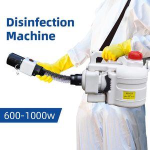 Hastaneler Ev Ultra Kapasiteli Sprey Makine Mücadele Elektrikli ULV Püskürtme Taşınabilir Sisleyici Makinası Dezenfeksiyon Makinesi