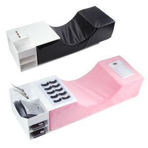 Extensión de pestañas profesional almohada suave injertado pestañas franela especial Almohada del salón de belleza Uso apoyo para la cabeza soporte para el cuello