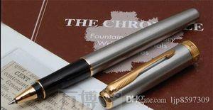 Parker roller Pen School Office Supplies silver parker pens office supplies Stationery sonnet roller ball pen promotion
