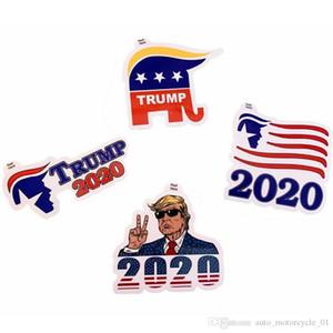 Trump Publicidade etiqueta do carro Moda US Presidente Trump 2020 Poster Creative Home Garden Stickers Wall Decor 4styles RRA1563