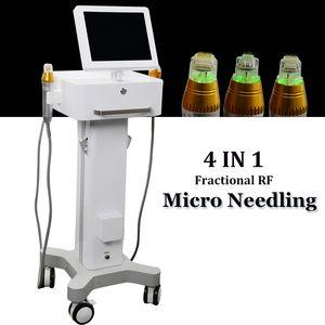 2021 NUEVA Máquina de eliminación de cicatrices Microneedle Fracionera Fraccionada RF Piel Tratamiento de acné 2 Manejo Marcas Estiramientos Remoción Cara Cuerpo Cuidado de la piel
