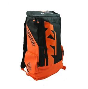 vendita calda Ktm zaino giro in moto attrezzature zaino di modo borsa moto all'aperto zaino di motocross in sella da corsa
