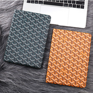 Top quliaty PU Leather Stand Tablet Cover Grid Plaid iPad Case For iPad mini 1234 ipad pro 9.7 10.5 Air 2 shockproof Dormancy shell