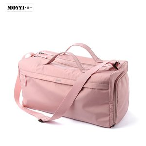 Big compartment waterproof Pink Travel Duffle Bag Factory Wholesale Custom Outdoor Lightweight Large Duffle Bag