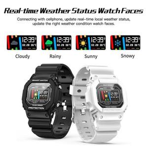 Nueva SmartWatch X12 inteligente reloj de la ayuda de los hombres de las mujeres Reloj Rastreador monitor cardiaco para la natación ECG PPG Reloj de pulsera