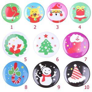 Cute Kids Boys Girls Pin Patrón de dibujos animados Broches de disfraces Decoración casual Accesorios de joyería de Navidad Regalo