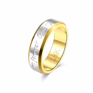 Fine 925 Sterling Silver Ring,XMAS Trendy New Style 18K GP Wedding Forever Love Ring For women Fashion Jewelry Link Italy Real Lovely