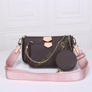 Melhores sacos de ombro de venda designer mala bolsa bolsa fashion bolsa carteira sacos de telefone sacos de combinação de três peças de compras livres