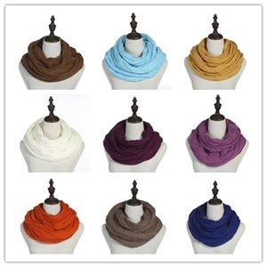 New Mode hiver anneau Echarpes tricot Plaid Costume de chaud unisexe Echarpe cadeau de Noël