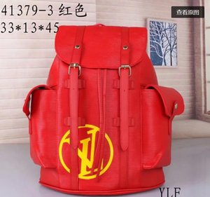 NEW Designer Backpack for Men and Women Genuine Leather Luxury Backpack New Fashion School Bags#023