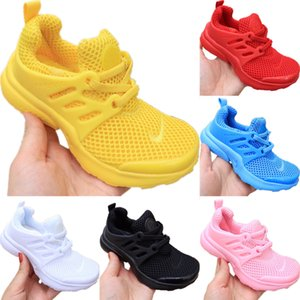 2020 Presto Kids Mesh Breathable Running Shoes Original Presto Kid Buffer Rubber Built-in Zoom Air Cushioning Jogger Shoes