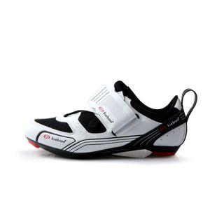 zapatillas de ciclismo profesional bloqueo zapatos de bicicleta de carretera