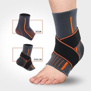 Polyester Fiber Ankle Guards Foot Care Gears Sports Breathable Compression Football Basketball Tools for Sports Supply