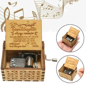 2020 New You Are My Sunshine Music Box Гравировка Ручной Деревянные Music Box Детские игрушки подарков