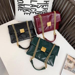 2019 bolsa de la bolsa sobre la gran capacidad de la moda retro nuevas versión coreana de las mujeres del estilo designer- extranjera versátil mensajero de la cartera