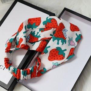 Designerheadband Moda Kadınlar BrandHeadbands Sıcak yaz Lüks Kızlar Saç Bantları Eşarp Saç Aksesuarları Hediyeler Headwraps 2020530K