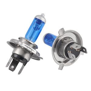 2 개 할로겐 헤드 라이트 전구 H4 100W 55W 높은 낮은 빔 5000K H4 55W 대체 조명 램프