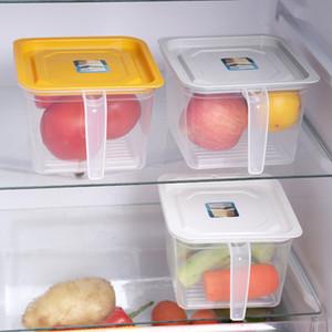 Cereal plastica yq01575 dispenser Storage Box alimento della cucina di Riso Contenitore bella cucina Rice Storage Box Granaio