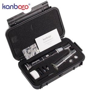 Высокое качество управления ТС на DAB воск снаряжение высокое качество портативный воск сухой травы испаритель ручка Kanboro ecube Мастер 2