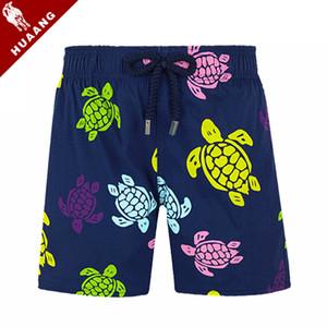 Vile Kinder Bademode 4-14 Jahre Marke Board Shorts Turtle Printed Board Quick Dry Jugend Strand Shorts Bademode Jungen Vilebre Badeanzug