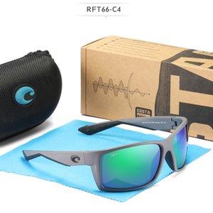 costa degli occhiali da sole di modo del Mens occhiali da sole 580P Polarized Protezione UV donne dal design di lusso occhiali da sole lente Costa Reefton TR90 telaio TAC
