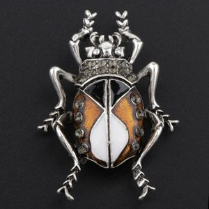 Stylish Insect Design Brooch Animal Bug Brooch Pins for Bags Jacket Hats Clothing Decor Jewelry