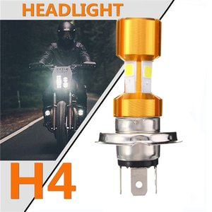 Производитель Продажа мотоциклов Lamp Single Claw двойной коготь H4 Gold Shell Три Side Luminous Коб Электрический автомобиль Фара
