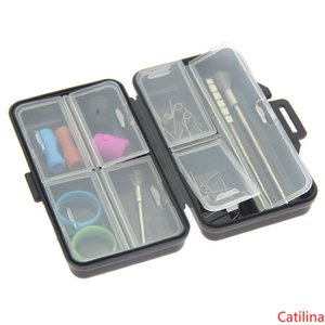 Boîte cas de batterie en plastique portable de sécurité Porte Conteneur pour MT phix NRX Cartouches goutte à goutte Conseils de charge USB Vape Band