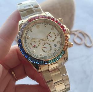 Männer s Luxusuhren Männer montres hommes Genf Stahl gießen Luxus Dial Automatik Herren Day Date Modedesigner-Uhr-Uhren