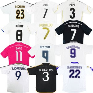 Retro Real Madrid soccer jersey 94 95 97 98 99 01 04 05 06 09 10 15 KAKA Ancient maillot RAUL Oldest shirt