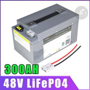 48V 200AH LiFePO4 48V 5000W 8000W 10KW con BMS profonda del ciclo di manutenzione gratuita Golf Car Solar Energy Storage
