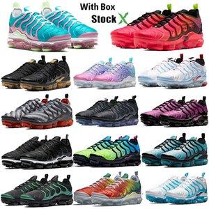 2020 TN Plus estrella berenjena líquido BETRUE deportes de los zapatos corrientes del amortiguador del diseñador Deportes zapatillas de deporte para hombre de Formadores Tamaño 36-47 con la caja