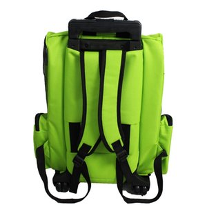 Light Pet Trolley Small and Medium Dogs Four Wheels Breathable Outdoor Bag Cats Portable pet carrier foldable dolly