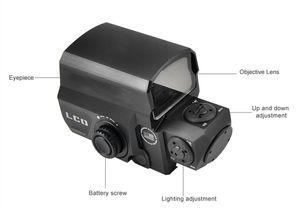 Tactical Red Dot vista olografica Sight Riflescope Ogni guida di 20mm di caccia del supporto Scopes Reflex fucile di vista