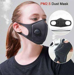FREIES Schiff Radfahren Schutzmasken mit Filter Schwarz PM2.5-Antistaub-Sport Running Training Rennrad wiederverwendbare Masken FY0002jj
