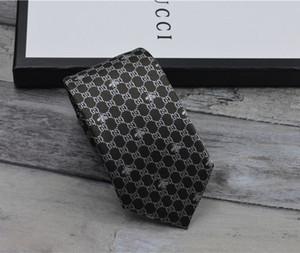 Corbata de los hombres de moda corbata de lazo de la marca corbatas de hilo teñido retro corbata de los hombres del partido ocasional corbatas