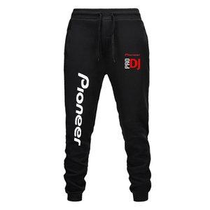 2020 new men's new hip hop jacket sportswear men's pants brand fashion casual band pioneer DJ PRO letter printing pants men