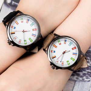 JBRL Спортивные часы Женские часы флаг Наручные часы для Женский Простые наручные Кварцевые часы дамы Часы подарок для девочек