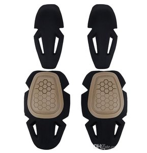 Joelho tático e cotoveleiras Protective Gear Set para G2 G3 G4 combate Uniform qualidade Paintball Caça Airsoft exterior Desporto Acessórios Top