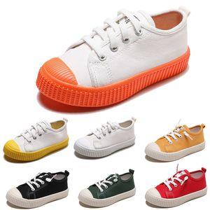 Non Marque Chaussures Lazy enfants garçon fille bébé chaussures de toile pour enfants à enfiler baskets biscuit respirant chaussures de sport 20-31 style 1 nouvelle arrivée