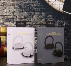 IOS Android Cep telefonu için TWS DOĞRU KABLOSUZ FLAŞ Kulaklıklar Blutetooth 5.0 kulaklık Taşınabilir Çift Kulak Kulaklık