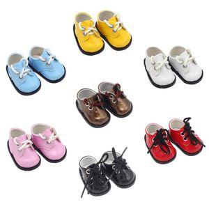 Scarpe da bambola per ragazze da 14,5 pollici alla moda BJD EXO Sport Scarpe PU American Neonato Giocattoli per neonato adatto Bambole di Milo