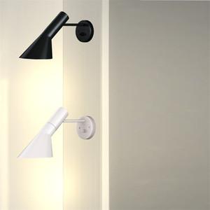 Los diseñadores nórdicos Hierro AJ LED Lámparas de pared LED Luz a la pared de la sala Dormitorio Lámparas de Iluminación Interior accesorios de cocina Decore