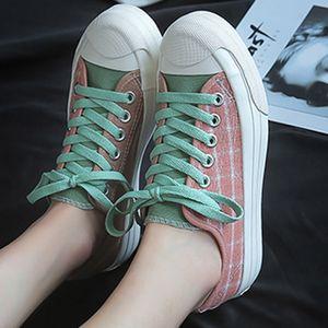 Fashion Korean version new summer Canvas shoes female students Joker ulzzang Harajuku ins Super Fire niche shoes female