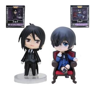 Anime Black Butler Figure jouet Kuroshitsuji mini poupée black butler Nendoroid mignonne Action Figure Toy cadeau T190925