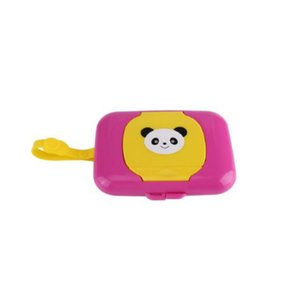 Wet Tissue Box Plastic Automatic Case Real Tissue Case Baby Wipes Press -up Design Home Holder Accessories 4 Colors