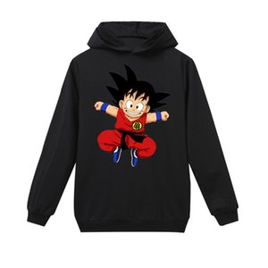 2020 Z hoodies Children Super Harajuku Gohan Harajuku Black T shirt Super Dragonball Anime sweatshirt Boys Baby Tops