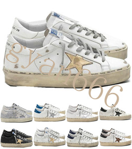 Italy Brand Multicolor Heel Golden Superstar Gooses Designer Sneakers Men Women Classic White Do-old Dirty Shoes Hi Star Shoes Size 35-45 #1